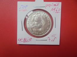 """Baudouin 1er. 50 Francs """"MARIAGE 1960"""" ARGENT. BELLE QUALITE (A.5) - 1951-1993: Baldovino I"""