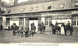 LA CELLE-LES-BORDES (78) - CHASSE À COURRE - La Duchesse D'Uzès Et Son équipage à La Celle-les-Bordes - Ed. Boudier - Jacht