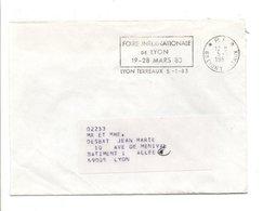 OBLITERATION PORT PAYE DE LYON 1983 - Marcophilie (Lettres)