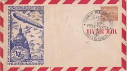 BERLIN 1954     ENTIER POSTAL  /GANZSACHE/POSTAL STATIONERY  LETTRE ILLUSTREE - Cartas