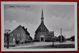 Cpa Cpsm Photo GRAZEN Kerk En Dorpplaats 2CV CITROEN - Geetbets