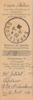 COUPON De Versement Obl SARREBOURG Du 16.8.20 - Marcophilie (Lettres)