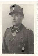 """Orig Photo All WW 2 : XX ELITE : DIETSCHE , 7° XX Gebirsjager Div """" PRINZ EUGEN """" .  . Ritterkreuz Des Eisernen Kreuzes - 1939-45"""
