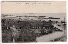 Cpa Paimpol La Greve De Kerroch Et La Baie De Paimpol - Paimpol