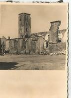 Orig Photo All WW 2 : FRANCE 1940 , Ville Détruite . RUINES . - 1939-45