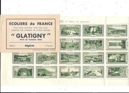11430 - Carnet De 20 Vignettes, ECOLIERS DE FRANCE, GLATIGNY, Série ALGERIE 1ière Feuille - Tourisme (Vignettes)