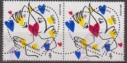 Coeur, Saint Valentin - FRANCE - Jean Charles De Castelbajac - N° 4924 - 2015 - Oblitérés