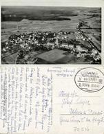 VILSINGEN, Inzigkofen, Panorama Von Flugzeug Aus 1942 AK Bahnpost Ulm Tuttlingen - Other