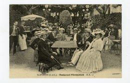 CP Repro: RESTAURANT FOUQUEUX À St-AVERTIN (I&L) - - Hotels & Restaurants