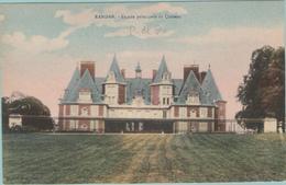 CPA:  VICHY (Dpt.03):   RANDAN.   Façade Principale Du Château.      (F181) - Châteaux