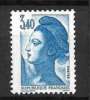 """FRANCE 1986  N° 2425 """" Type Liberté De Delacroix """"   NEUF - France"""