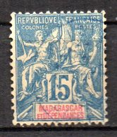 Col17  Colonie Madagascar N° 33 Oblitéré Cote 2,00€ - Used Stamps