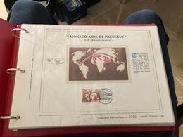 Timbres CEF De Monacode 1989-1991 - Colecciones (en álbumes)