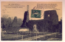 """Cachet Ambulant """"NANTES A SAINCAIZE 1910"""" Semeuse Indice = 4 Pour Cholet - Railway Post"""