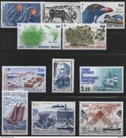 TAAF;1987;année Complète;TP N° 122 à 129; +  PA N°97 à 99 ;NEUFS**;MNH - Terres Australes Et Antarctiques Françaises (TAAF)