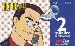 SCHEDA RICARICA TIM CAMPIONE OMAGGIO SCADENZA 31-01-1998 - GSM-Kaarten, Aanvulling & Voorafbetaald