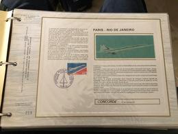 Timbres CEF De France De 1976 - Colecciones (en álbumes)