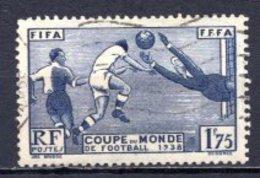 1938 FRANCE FIFA WORLD CUP FOOTBALL SOCCER MICHEL: 427 USED - Gebraucht