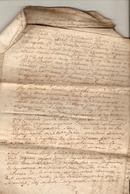 Lot De 3 Vieux Papiers Du Béarn, 1764, Bourda D'Artiguelouve Contre Vignau D'Aubertin, Marché De Lescar, Saisie, Prison - Documents Historiques