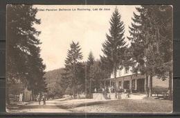 Carte P De 1929 ( Hôtel Pension Bellevue Le Rocheray / Lac De Joux ) - VD Vaud
