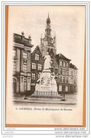 COURTRAI ..-- Statue De Monseigneur De Haerne . - Kortrijk