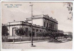 Cpa Azul Escuela Normal - Argentine