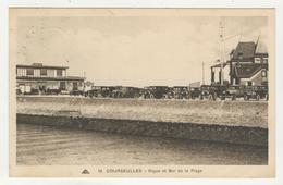 14 - Courseulles - Digue Et Bar De La Plage - Courseulles-sur-Mer
