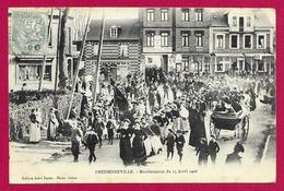 CPA Fressenneville - Manifestation Du 15 Avril 1906 - France