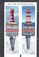 Aland 2008 - Lighthouses, Mi-Nr. 296/99, MNH** - Ålandinseln
