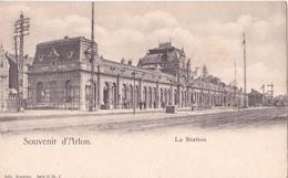 CPA  Souvenir D'Arlon - La Station - Nels Serie 31 N°2 - Arlon