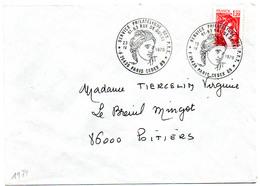 France N° 1974 Y. Et T. Paris Cachet Service Philatélique Des PTT Du 23/04/1978 Sur Lettre - 1961-....