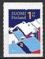 Finlande 2011 Neuf N°2100 Timbre De Voeux Avec Maisons Enneigées - Finlande