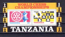 Tanzanie 1986, Championnat Du Monde D'échecs Et Rotary, BF 44**, Cote 18 €, - Tanzanie (1964-...)