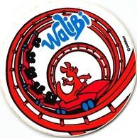 Sticker Walibi Achtbaan Cobra  Achterzijde Reclame Ola   8 Cm    I 3248 - Autocollants