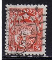 LATVIA LETTLAND LETTONIA LATVIJA 1927 1933 ARMS AND STARS FOR VIDZEME KURZEME LATGALE STEMMA 3s USATO USED OBLITERE' - Lettonia