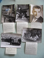 5 Photos Presse Attentat Contre CAMILLE BLANC Maire D' EVIAN LES BAINS Obsèques Mme Citroën Traction Explosion 1961 OAS - Personalità