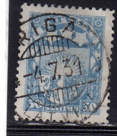 LATVIA LETTLAND LETTONIA LATVIJA 1927 1933 ARMS AND STARS FOR VIDZEME KURZEME LATGALE STEMMA 30s USATO USED OBLITERE' - Lettonia