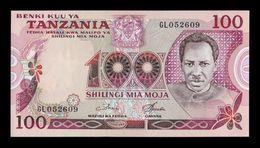 Tanzania 100 Shilingi 1978 Pick 8d Sign 3 SC UNC - Tanzanie