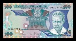 Tanzania 100 Shilingi 1986 Pick 14b Sign 8 SC UNC - Tanzanie
