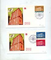 Lettre Fdc 1969 Europa - FDC