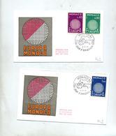 Lettre Fdc 1970 Europa - FDC