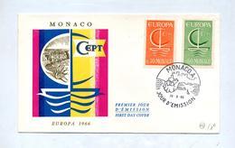 Lettre Fdc 1966 Europa - FDC