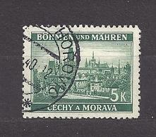 Bohemia & Moravia Böhmen Und Mähren 1939 Gest ⊙ Mi 35 Sc 37 Cities And Castles I. Städte I. German Occupation. - Gebraucht