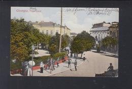 Romania PPC Giurgiu  Piata Carol 1924 - Romania