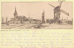 59 - ILLIES / CARTE POSTALE ILLUSTREE ALLEMANDE - ILLIES BEI NEUVE CHAPELLE - France