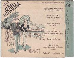 06. Gf Dépliant. JUAN-LES-PINS. Hôtel Miramar - Antibes
