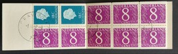 Nederland/Netherlands - Postzegelboekje Nr. PB4z Gestempeld - Libretti
