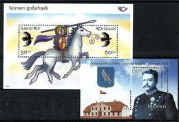 Islandia HB 35/36 Nuevo. Cat.11€ - Hojas Y Bloques