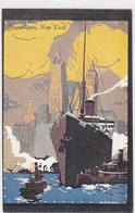 New York - Skyscrapers - Signed - Printed 1918     (A-188-191016) - Illustratori & Fotografie