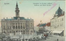 Serbie - Novi Sad (Ujvidék) - Varoshaza és Kovacs Szalloda - Rathaus Mit Hotel Kovacs - Hotel De Ville - Serbie